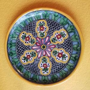 Talavera Pottery Plate